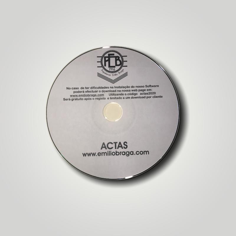Software Livro de Actas