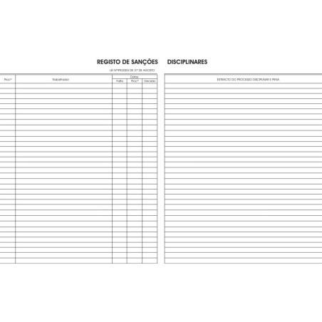 Livro de Sanções Disciplinares 786A