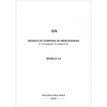Livro IVA 10