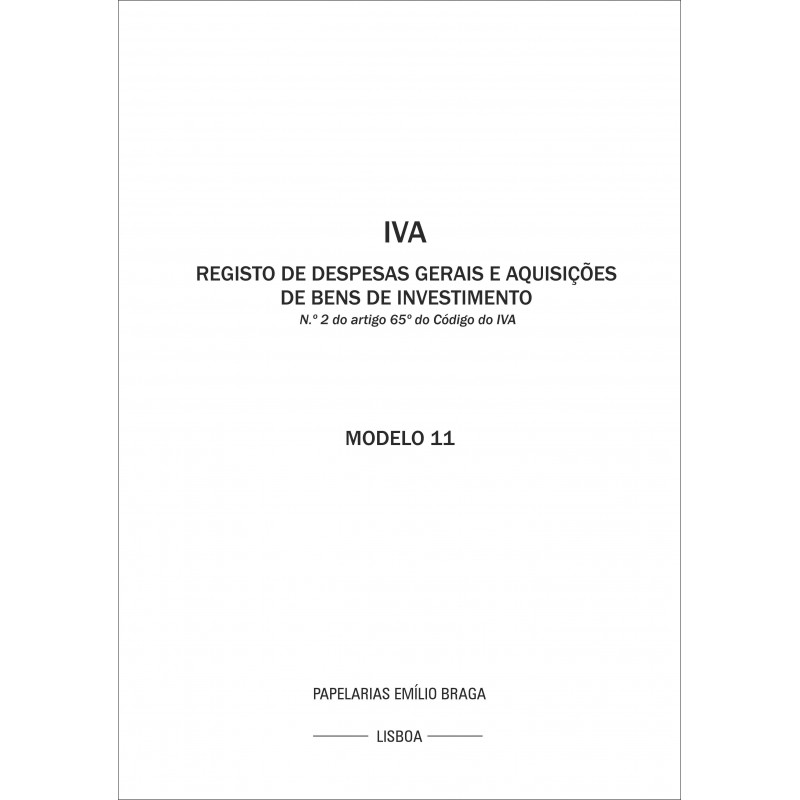 Livro IVA 11