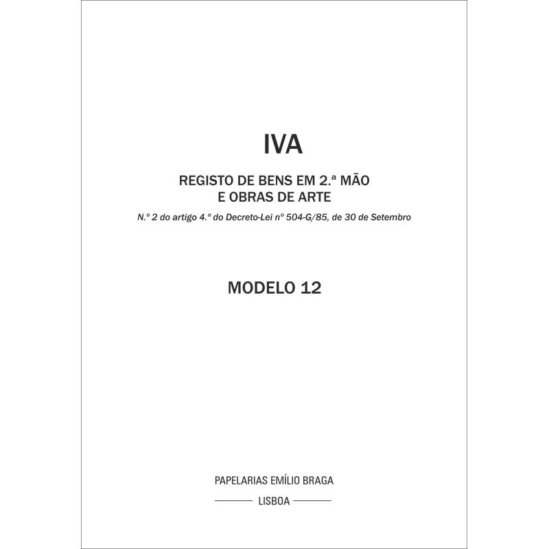 Livro IVA 12